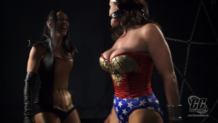 The slaves Wonder woman captive and in bondage images