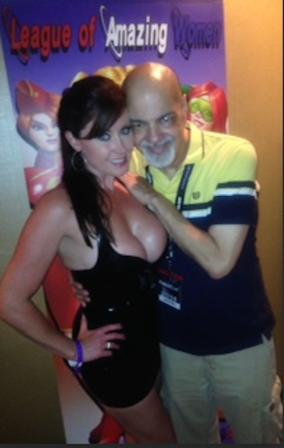 Chrisitna and George Perez